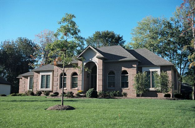 Charming brick exterior on this 4 bedroom ranch style home for 4 bedroom ranch style homes