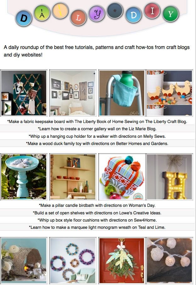 134 best The Daily DIY images on Pinterest | Craft blogs ...
