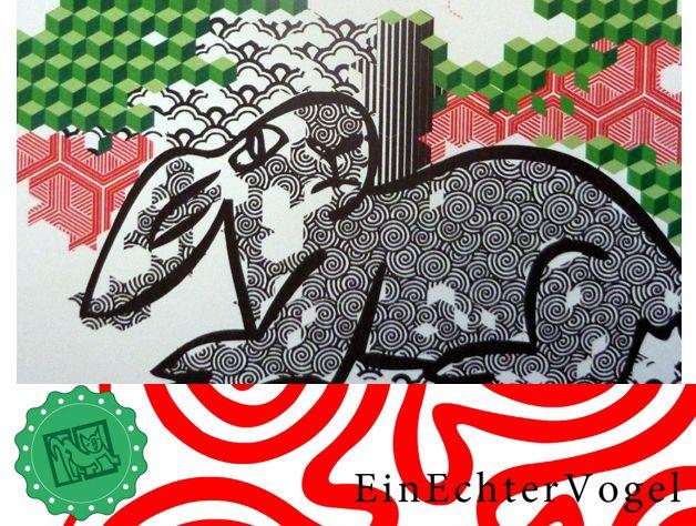 HAB ACHT Kaninchen, Hase von einechtervogel auf DaWanda.com