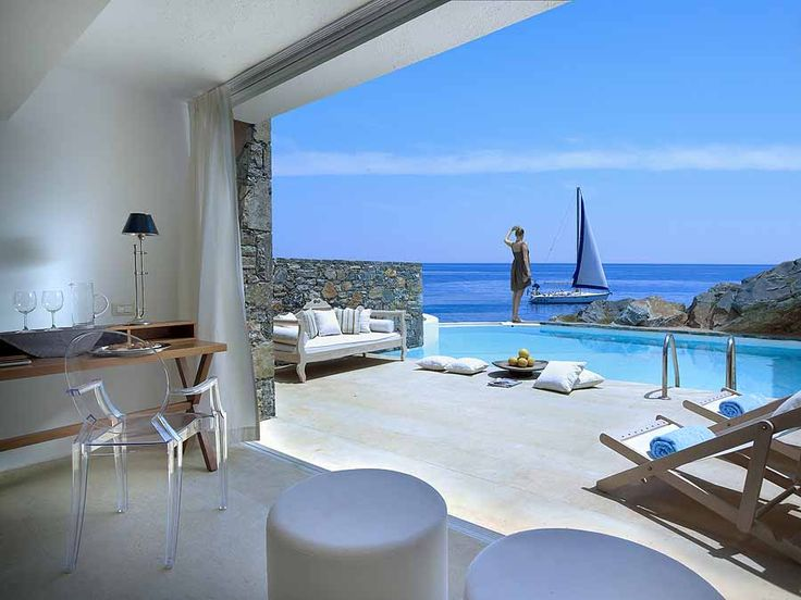 After exploring many of Greece's archaeological sites, chilling out at St. Nicolas Bay Resort & Villas on Crete was just the travel prescription we needed. Luxury, seclusion, a sweet swimming cove - and our own private pool! #Crete #Greece #luxuryhotel http://www.sandinmysuitcase.com/st-nicolas-bay-resort-review/