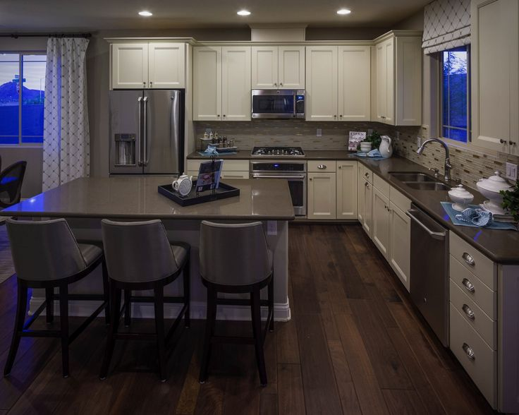 Kitchen in the Lawson model by Richmond American Homes in Cadence.