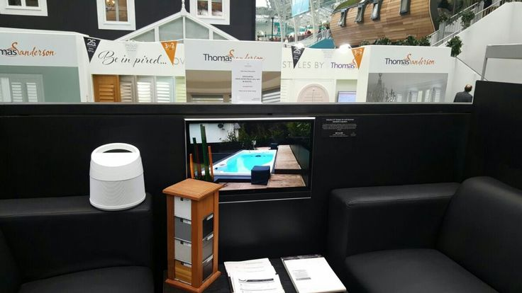 """Videotree 27"""" Black Outdoor  TV with Speakers - Waterproof, Weatherproof Anti-Reflective Outdoor TV at the Ideal Home Show 2016"""