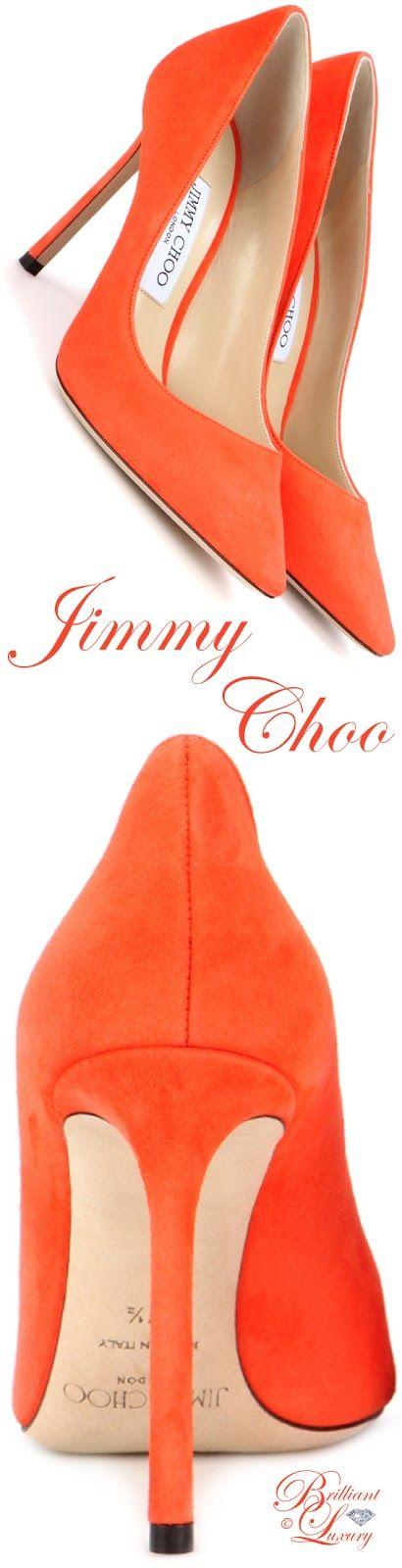 Brilliant Luxury by Emmy DE ♦ Jimmy Choo 'Romy' Suede Pumps