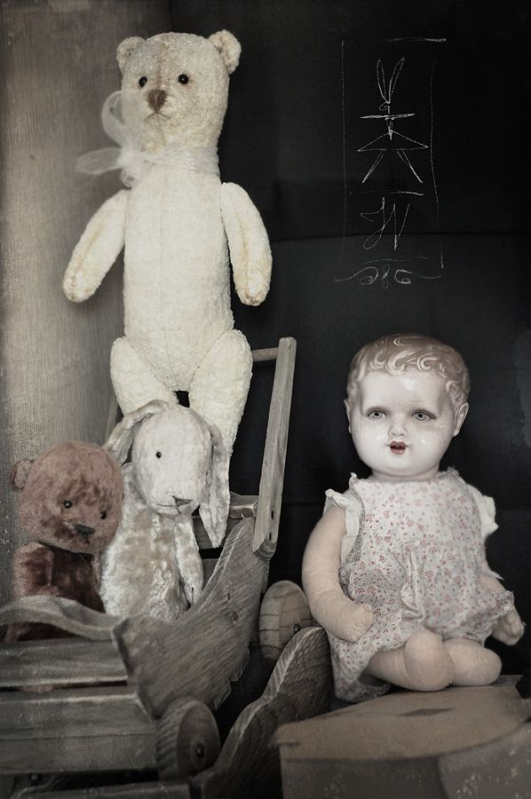 17 Best images about antique doll and teddy bear on ...