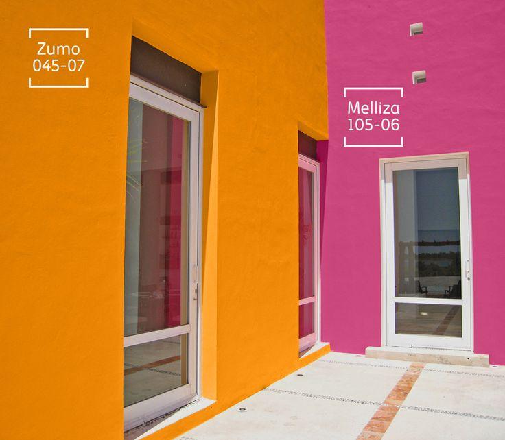 Mejores 71 im genes de exteriores en pinterest paletas de colores arquitectura y barra - Paleta de colores pared ...