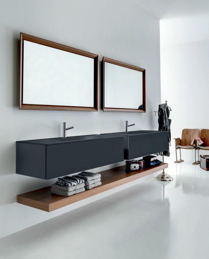 VIA VENETO Mueble bajo lavabo lacado by FALPER diseño Falper Design
