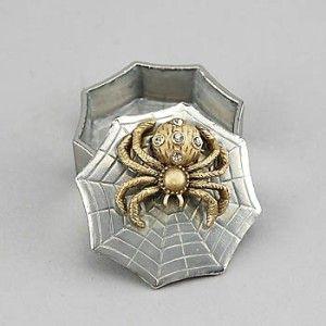 Silver/Gold Tangled Web Box