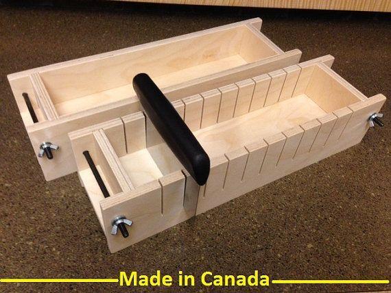 3 molde de jabón de madera de 4 lb y barra por WoodSoapMolds