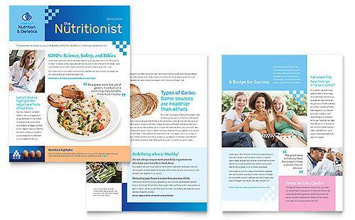 Dietitian Newsletter Template