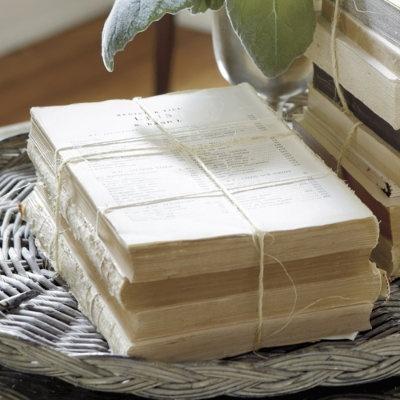 Antiqued Book BundlesBundle Ballarddesigns, Book Bundle, Book Decor, Vintage Book, Antiques Book, Diy Book, Crafts Projects, Guest Book, Ballard Design