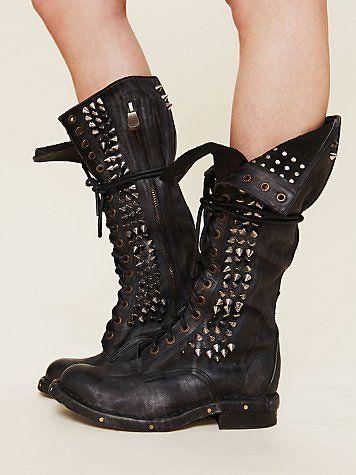 Best 25  Studded boots ideas on Pinterest | Punk shoes, High heel ...