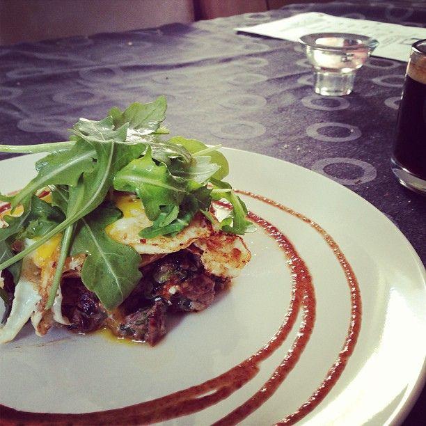 Restant de tartare en steak'n egg | Flickr - Photo Sharing!