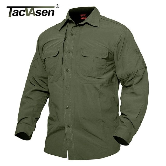 Mens Performance Polo Short Sleeve Military Shirt Cargo Tactical Pullover Outdoor T-Shirt Army Combat Shirts