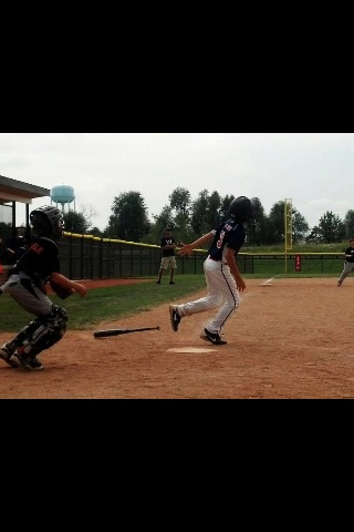 My little hitter!!