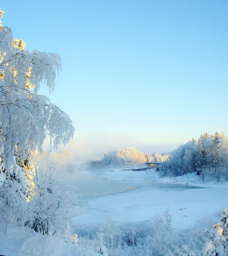 Wiev for my house in vinter