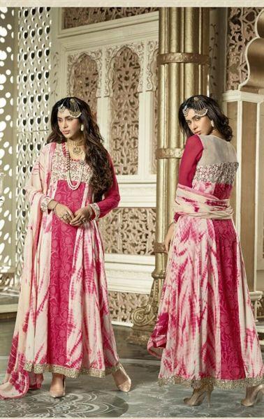 Picture of Iconic Pink Designer Salwar Kameez