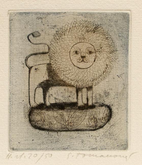 Emilie Tomanová, Signs of the Zodiac - Lion