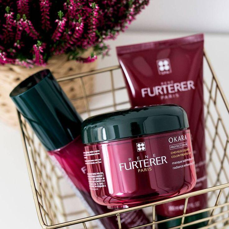 """Polubienia: 164, komentarze: 4 – Rene Furterer Polska (@renefurtererpoland) na Instagramie: """"Po wizycie u fryzjera w naszych rękach leży dbanie o trwałość koloru włosów. Najlepiej zajmie się…"""""""