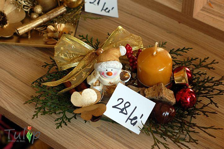 Decorațiuni de Crăciun originale în atelierul nostru de flori / Blog-ul Tulip Atelier de flori.