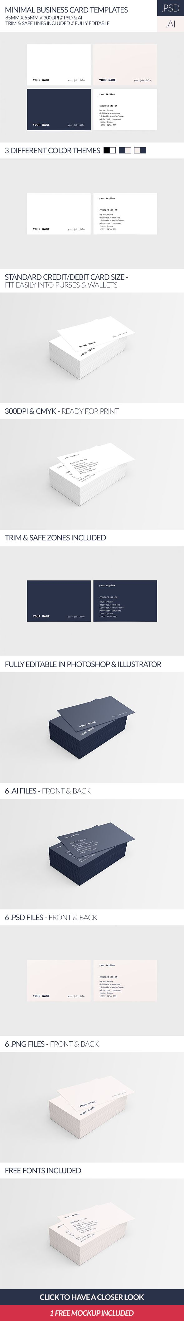 100 blank business card template illustrator