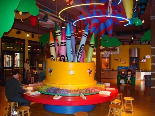 Crayola Crayon Factory. Perfect family trip--Easton, PA- (2 hours from Harrisburg)