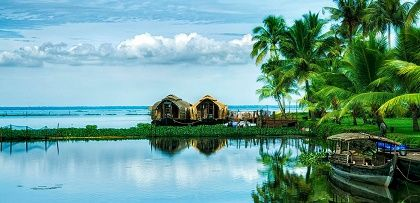 Travel Destinations In India - Kerala. The climate is pleasant year round and hence known as one of the best travel destinations in India- Kerala,winter is special with the onset of monsoons.The land is filled with scenic waterfalls,captivating backwaters and the tranquilising hill stations.It is one of the top tourist places in India with its trademark boat houses.