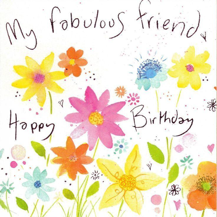 My fabulous friend - Happy Birthday!