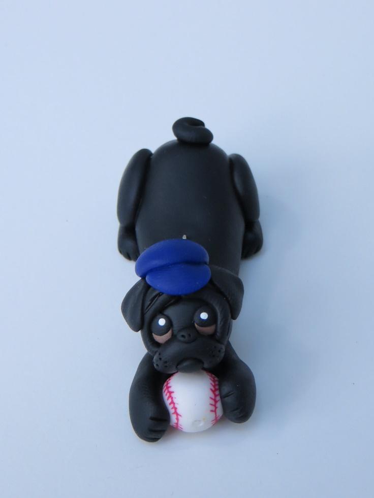 polymer clay pug - Google Search
