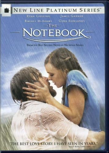 The Notebook: Fav Movie, Movie Show, Favorite Movie T V, Best Movie, Books Movie, Favorite Movies, Movie Books Tv Mus, Notebooks Dvd 6 10, Movie 3