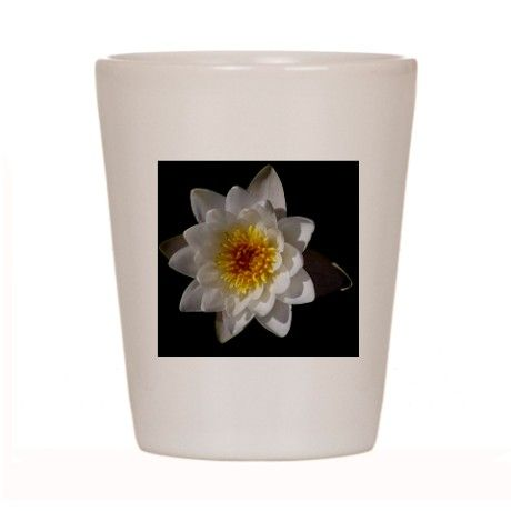 Flower Shot Glass on CafePress.com