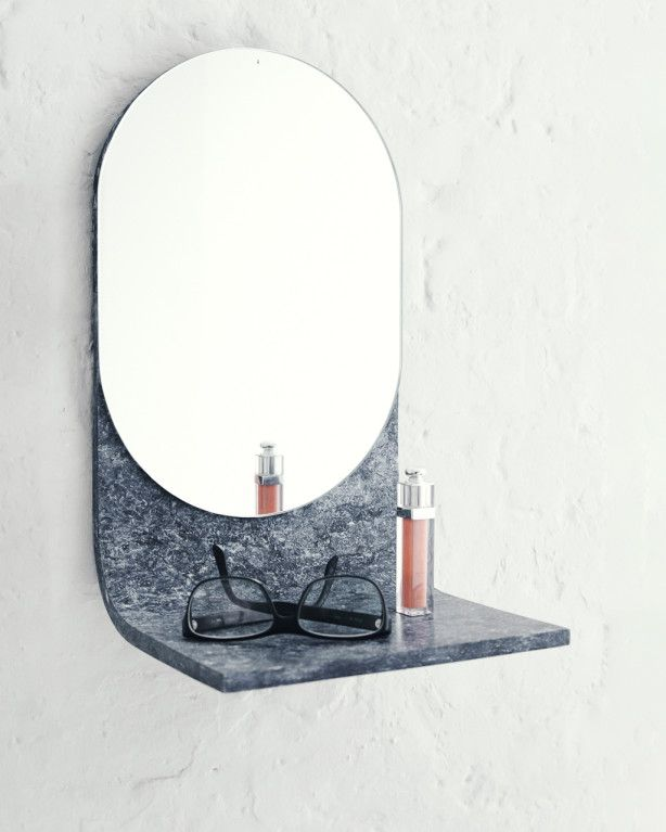 -ISH Wall Mirror Prototype by Laetitia de Allegri, Matteo Fogale - Shop - L'ArcoBaleno.