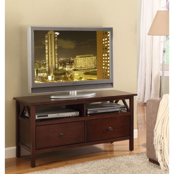 Oh! Home Tiziano TV Stand Aged Cherry