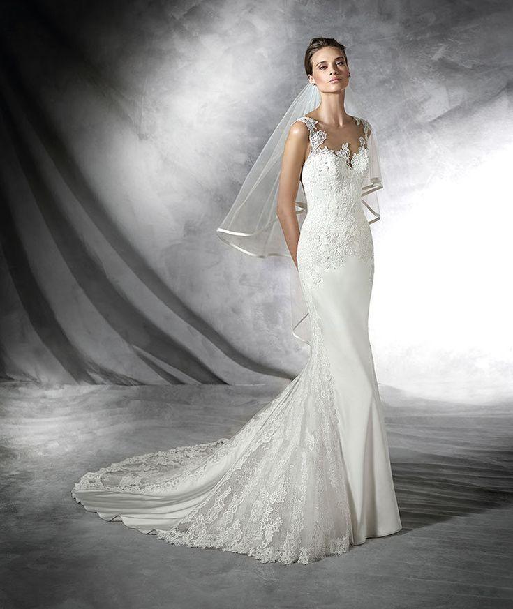 47 best Pronovias    The Bridal Collection images on Pinterest ...