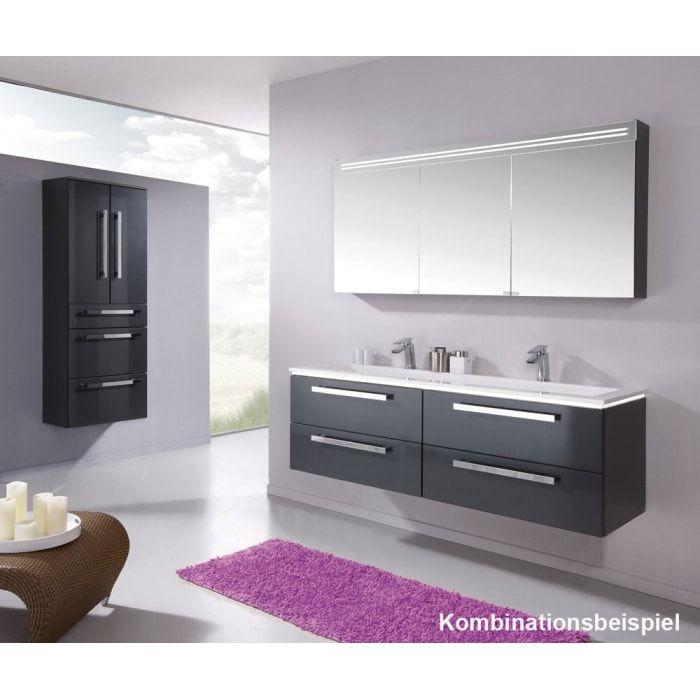 Puris Star Line Waschtischunterschrank 160 X 47 X 48 Cm Mit 4 Auszugen Wua33169f722k16129432 Megabad Waschtischunterschrank Badezimmer Schrank
