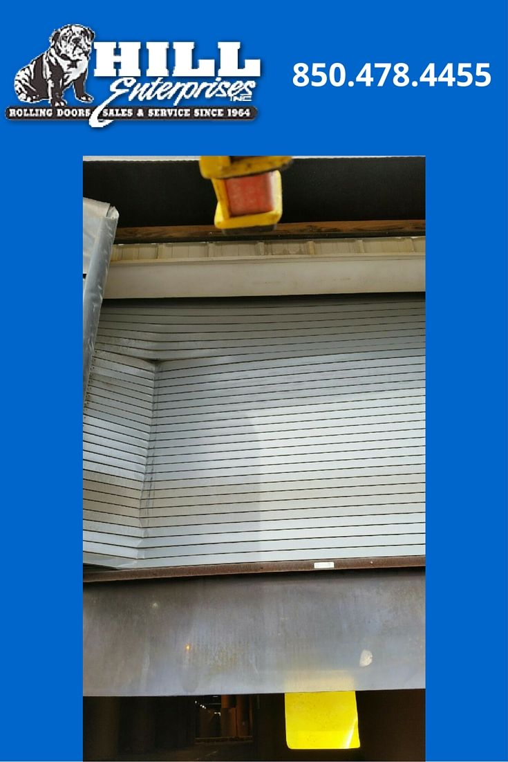 BEFORE 2 Photos of Cookson Door damaged by truck trailer at Loading Dock. A & 14 best Rolling Door Repair Pensacola FL images on Pinterest | Pep ...