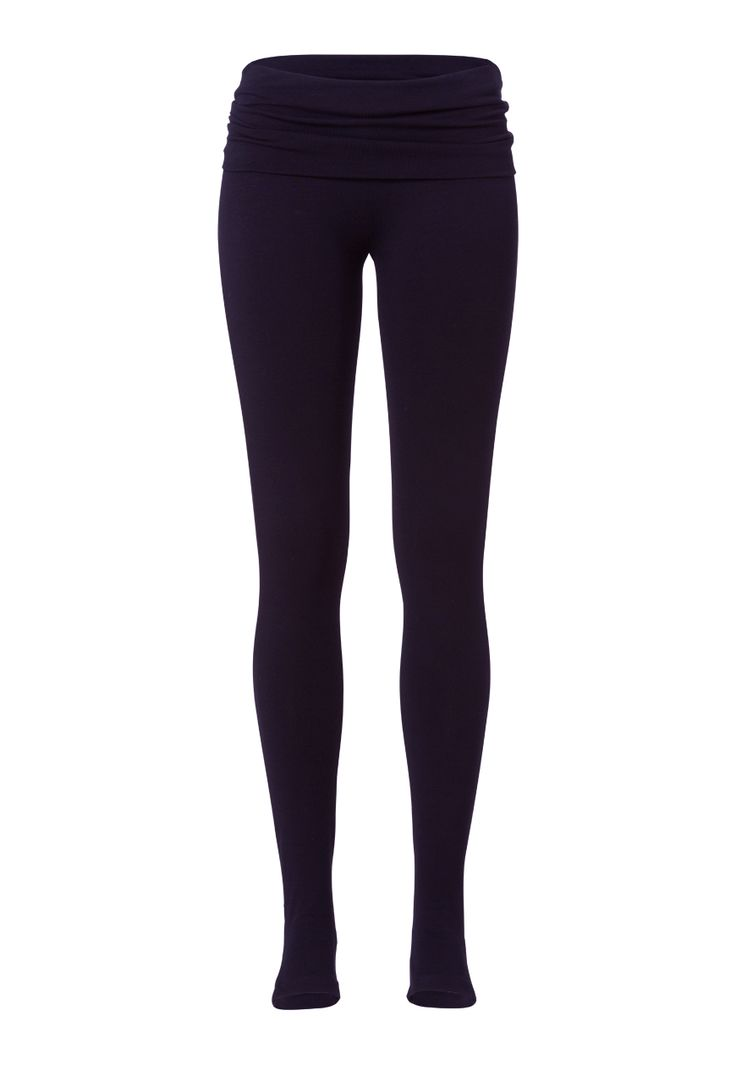 Stay Down Leggings - Deep Night Blue