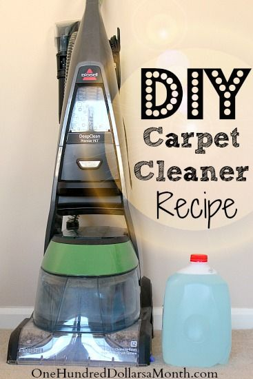 Tips for Steam Cleaning Carpets + My Favorite DIY Carpet Cleaner Recipe