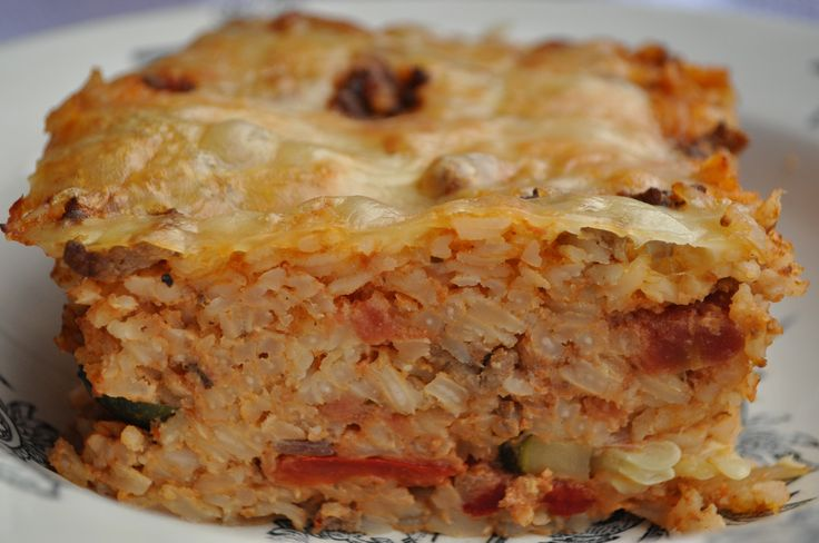 Baked rice (Ross il forn)