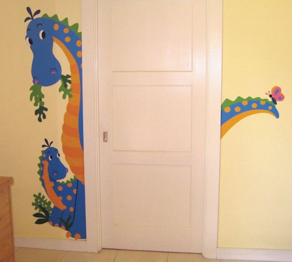 ATTRACTIVE WALL MURALS FOR KIDS