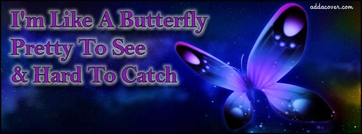 Im Like A Butterfly Facebook Covers, Im Like A Butterfly FB Covers, Im Like A Butterfly Facebook Timeline Covers, Im Like A Butterfly Facebook Cover Images