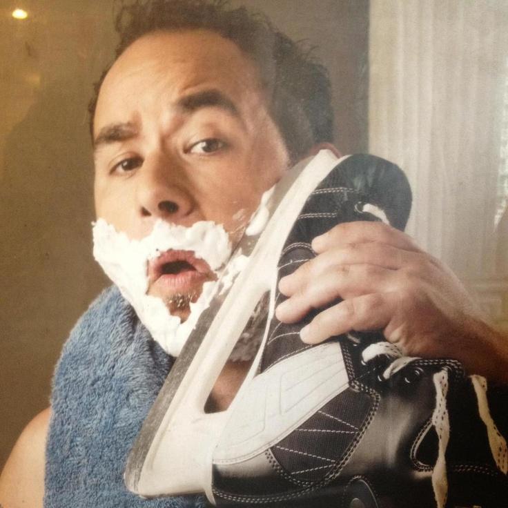 How Canadian men shave...