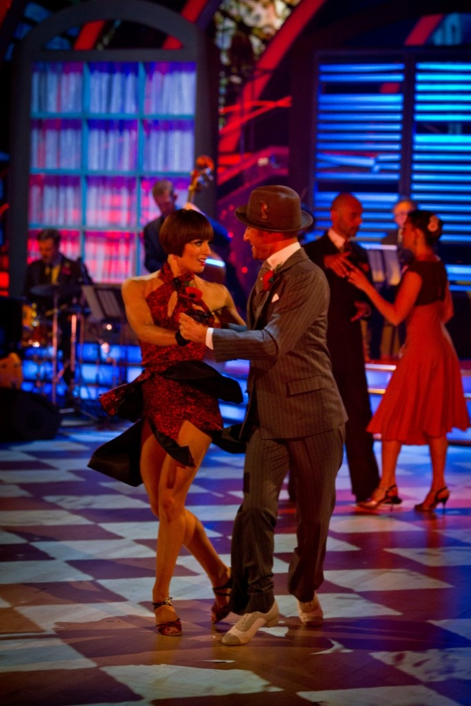 Vincent Simone and Flavia Cacace - Midnight Tango - Strictly Come Dancing Results Show - Week 6 - Nov 2012