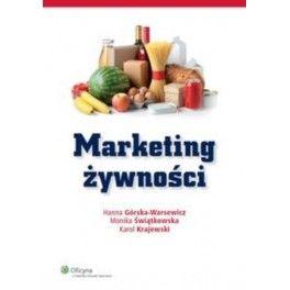 Górska-Warsewicz H., Świątkowska M., Krajewski K.: Marketing żywności. - Warszawa : Oficyna a Wolters Kluwer business, 2013. Sygn.: HD9000.5 .G671 2013