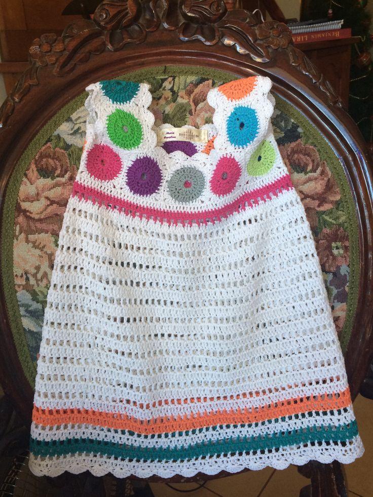 Vestido crochet niñita