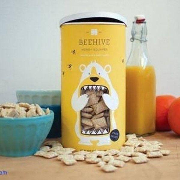 Behive Honey Squares