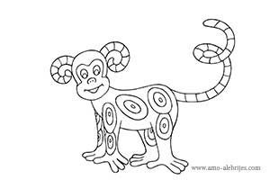 This is a photo of Eloquent Alebrijes Coloring Pages