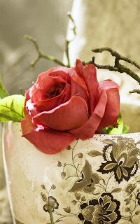 Wallpapers For Samsung Galaxy Note-Antique Flowers
