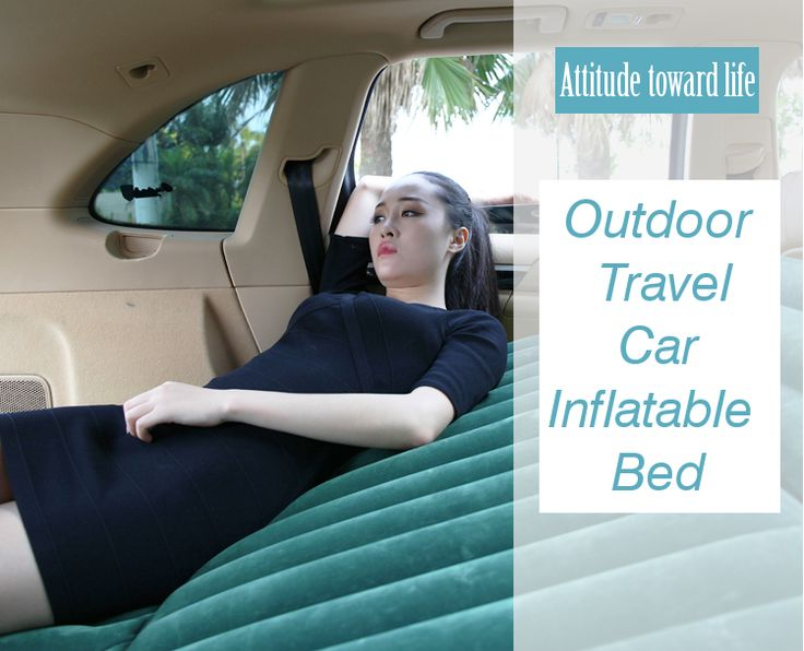 Universal Outdoor Travel Car Inflatable Mattress Air Bed for SUV