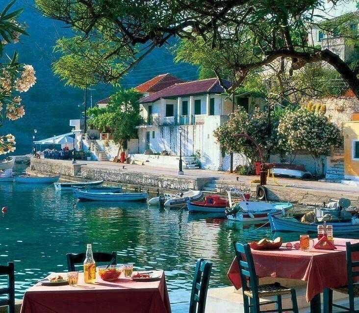 bluepueblo: Seaside, Kefalonia, Greece photo via diska