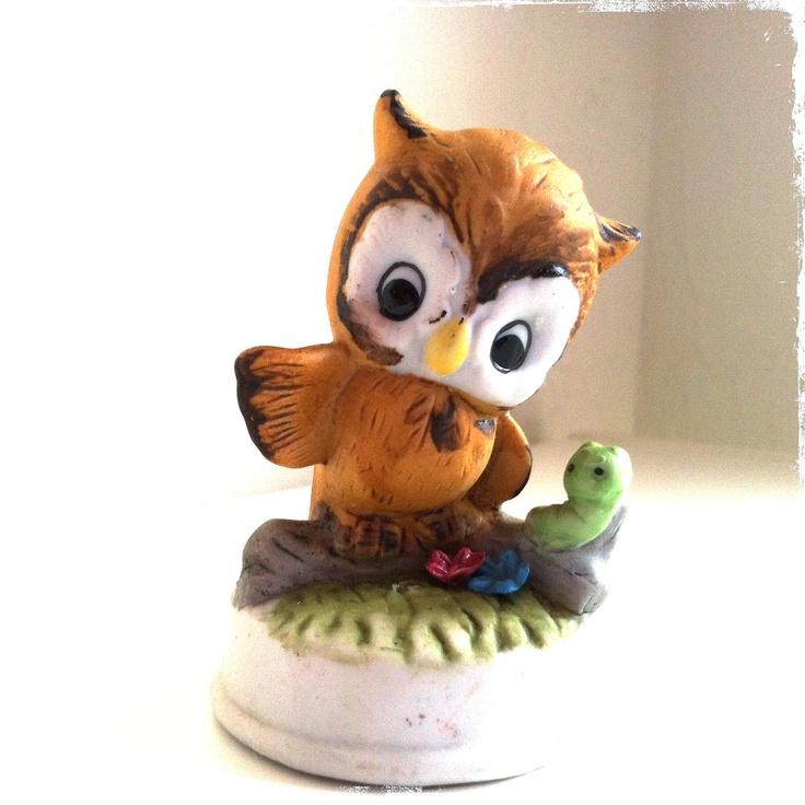 Elegant Beautiful Owl Figurine
